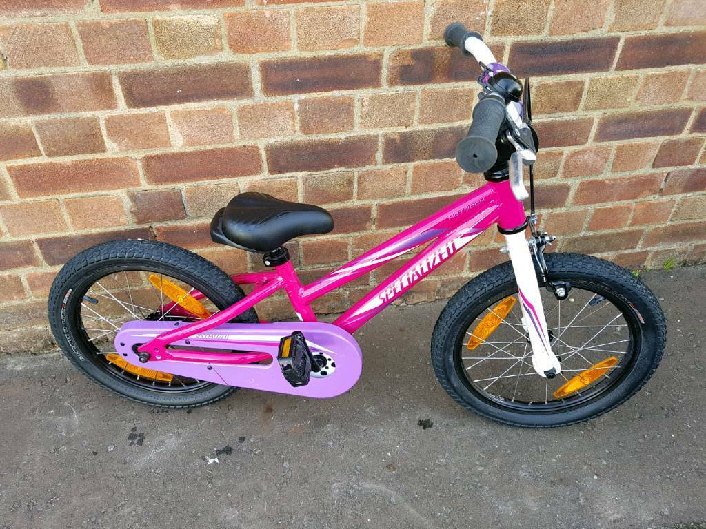 """SPECIALIZED HOTROCK 16"""" WHEELS GIRLS BIKE...EXCELLENT CONDITION"""