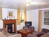 4 bedroomed flat with garden