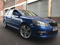 Skoda Octavia 2013 2.0 TDI CR vRS 5 door ESTATE, FSH, 1 OWNER, 1 YEAR WARRANTY, NEW SHAPE, BARGAIN