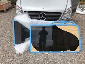 Mercedes Benz Sprinter / VW crafter 2006 on Privacy side windows. one half slider