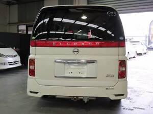 2007 Nissan Elgrand NE51 Van/Minivan 7 SEATER highwaystar Bayswater Knox Area Preview