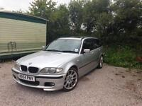 BMW M SPORT RARE 6 SPEED GEAR, petrol SUNROOF ,FULL SPEC, BLACK LEATHER, *SPARES OR REPAIRS*