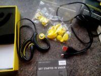 Jabra sport wirless+ earphones