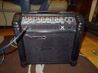 Great starter Electric Guitar Amp: Incredibly powerful for 15w Ibanez TBX15 Tone Blaster