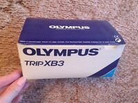 Olympus Trip XB3 as new condition camera