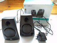 Logitech stereo speakers Z130