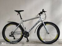 "SERVICED (4570) 27.5"" CARRERA AXLE LTD Aluminium HYBRID BIKE MOUNTAIN BICYCLE Height: 170-185 cm"