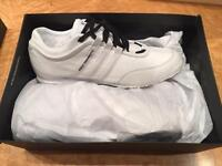 Y3 white trainers - brand new