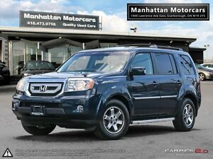 2009 HONDA PILOT 4WD TOURING PKG - NAV|DVD|CAMERA|8 PASS|LOADED
