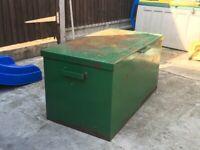 6e7da6f124 Large Metal Van Vault (Site box  storage container)