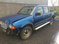 2000 Ford Ranger crewcab for parts ++++ all parts to repair