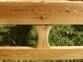 Pine wood bed frame, single, with satin gloss lacque surface