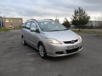 2006 MAZDA 5 Ts2 5dr new MOT 7 seats Low millage Full service History