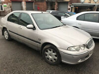 Rover 45 impression 1.4 petrol 51-plate! Short mot! Good runner! Px to clear £175!! £175!! £175!!
