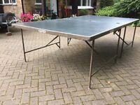 Gymnasia Club Table Tennis Table on wheels