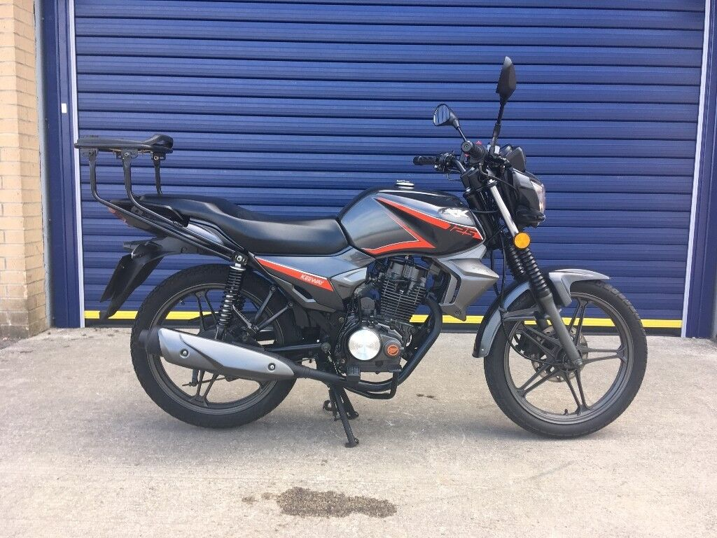 2016 KEEWAY RK 125 MOTORBIKE , GREAT CONDITION , LOW MILES , HPI CLEAR