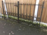 Set Of Arrow Head Solid Steel Driveway Gates / Double Gates / Can Deliver Call for info