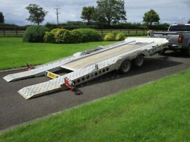 CAR TRANSPORTER TRAILER IVOR WILLIAMS CT177 ### ONE OWNER FROM NEW ###