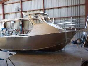 5.3m aluminium plate boat hard top bare hull only Carrum Downs Frankston Area Preview