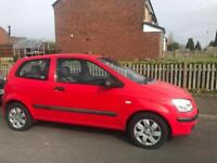 Hyundai getz 2004 red 3doors 1.3