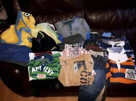 Boy's 4-6yrs big bundle of clothes