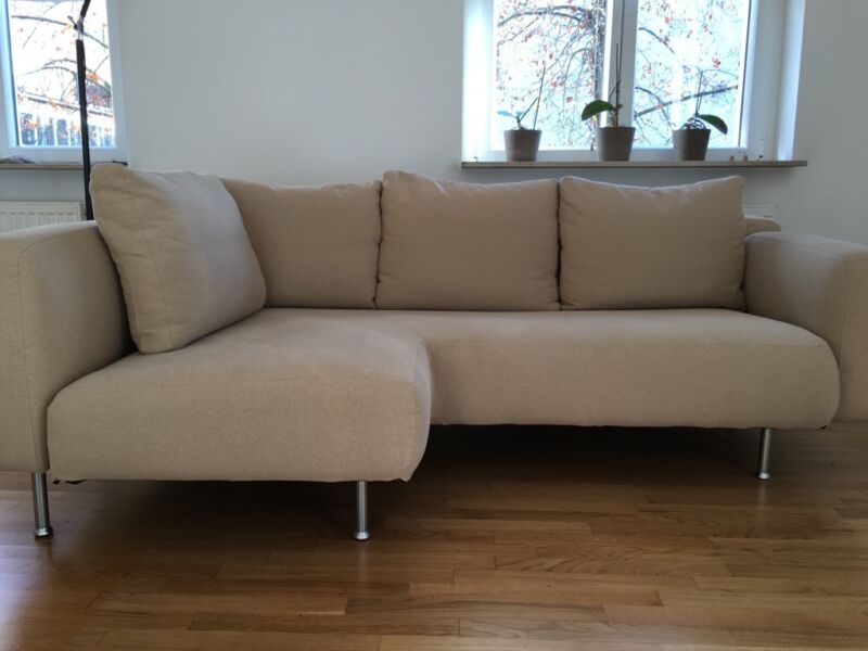 ligne roset 3er ecksofa mit r camiere und hocker top in d sseldorf bezirk 3 ebay. Black Bedroom Furniture Sets. Home Design Ideas