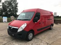 2015 Red Vauxhall MOVANO