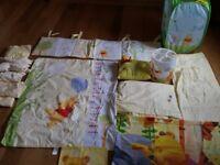 AMAZING Nursery Bedding Bundle Winnie the Pooh