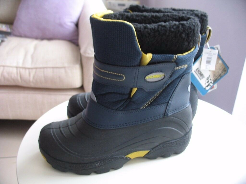 Boys unused waterproof boots sizes UK 1 & UK 3