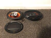 """JS-694 450W max 6x9"""" car speakers."""