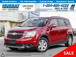 2012 Chevrolet Orlando 4dr Wgn 1LT *Keyless Entry, Traction Cont