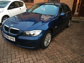 BMW 320d. Immaculate condition inside and out. Full leather, heated seats, cruise, service