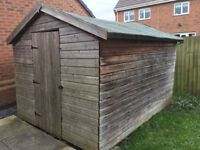 10ft x 8ft Wooden Garden Shed