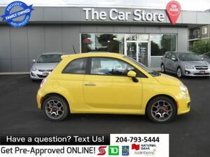 2012 Fiat 500 Sport - BLUETOOTH, 1OWNER, NO ACCIDENTS