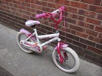Kids 14 Inch Wheels Bike, Magna Lip Gloss Girl's Bike, Delivery Possible