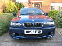 2002 BMW 325i Sport Touring, 7mths mot, service history, new parts