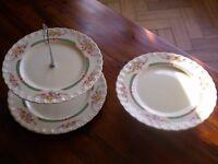 Grindley bone china cake platters (2)