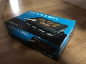 Raclette and Grill 8 persons. Used