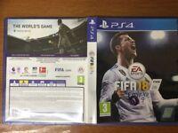 PS4 FIFA18 LIKE NEW