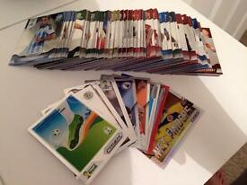 115 Prizm Panini FIFA 2014 World Cup Brazil Trading Cards!