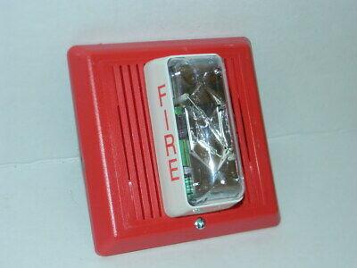 Edwards Est 757-8a-t Fire Alarm Temporal Horn Strobe