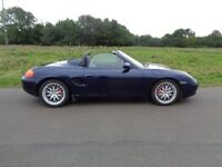 PORSCHE BOXSTER 3.2S MANUAL LOW MILES ONLY 2 OWNERS FROM NEW