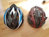 Giro and Prowell adult bicycle helmets