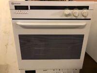 Integrated Bauknecht Single Oven (approx. Dims 59cm Wide x 54cm Deep x 59cm High)