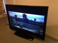 """BAIRD 47"""" Inch LCD Freeview HDMI TV - Spares or Repair Lines in Television Picture Model JO47BAIRD"""