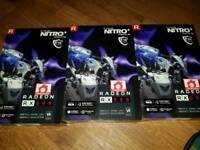 Radeon Sapphire Rx580 Nitro+
