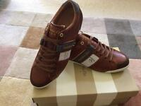 Men's leather Trainers