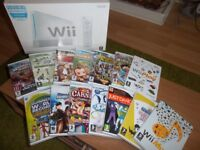 Wii CONSOLE comes with 14 ADDITIONAL GAMES