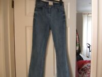 RED HERRING STRETCH BOOT LEG JEANS IN NAVY NEW
