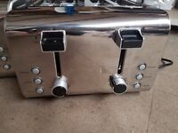 3 x 4 Slice Toasters ( Need Refurb )